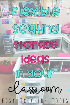 When I fully embarked on the flexible seating journey last year, I wasn't sure where my students would store all of their stuff. See what worked and didn't in our class as we tried our different flexible seating storage.