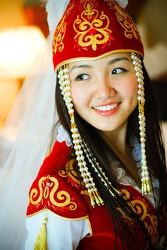 Kyrgyzstan traditional clothing