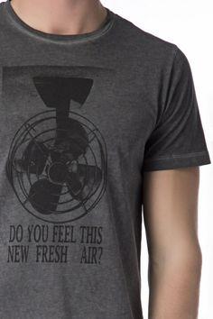 Daniele Fiesoli - Camiseta estampada manga corta 43 8a9770c02da