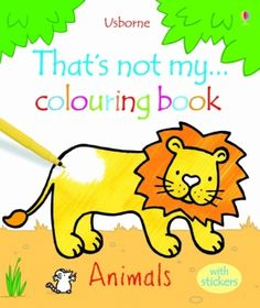 Usborne Thats not my... colouring book - Animals