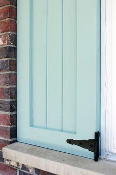 DIY Craftsman Exterior Shutters | Craftsman exterior, Exterior ...