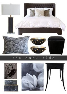 Take a walk on the most beautiful dark side ever! Shop this look at www.summerhousestyle.com