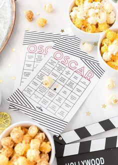 Having an Oscars Viewing Party? Enjoy the awards show with Free Printable Bingo! Holiday Wallpaper, Party Food And Drinks, Oscar Party, Party Printables, Free Printables, For Your Party, Childrens Party, Holiday Parties, Holiday Fun