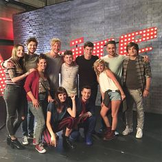 Team Samu ready for sing-offs after final rehearsal. Only the 3 best ones make it to the live shows. Hard job for me, even harder for them. Be all proud of making it this far & may the best ones win. #tomorrow. #thevoiceofgermany #teamsamu #singoffs