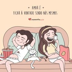 Amar é ficar à vontade Say I Love You, Love Of My Life, L Quotes, Cute Phrases, Drawing Quotes, Mr Wonderful, Cute Texts, Love Illustration, Love Messages