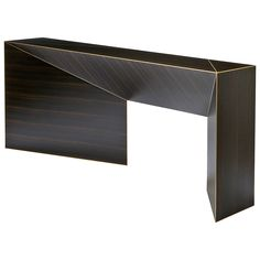 Hervé Langlais Vertigo Console Table from the Shifting Reflections Collection | From a unique collection of antique and modern console tables at https://www.1stdibs.com/furniture/tables/console-tables/