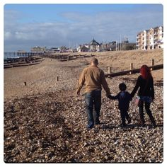 Although we love going to the beach, we live in London, so we don't have the chance to go to the seaside very often. We made the most of the beach at Bognor Regis by having a lovely family day, wal… Bognor Regis, Family Fun Day, Stay Active, Good Day, Seaside, Have Fun, To Go, Couple Photos, Beach