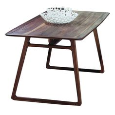 Vernal American Walnut Dining Table | Buy Wooden Tables