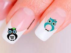 Fabulous Cool Stuff: Owl Nail Art Decals