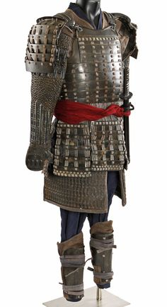 Samurai armor from the 2003 Tom Cruise movie The Last Samurai. http://www.propstore.com/product-Complete-Green-Samurai-Warrior-Costume-With-Sword.htm