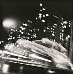 PHILLIPS : NY040211, Ted Croner, Taxi, New York Night