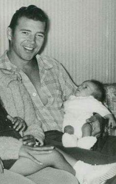 Mickey hargitay and baby zoltan