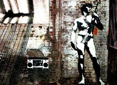 Blek le Rat  -  the Father of Stencil Graffiti