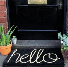 Step on it: Quirky doormats to spruce up your front step