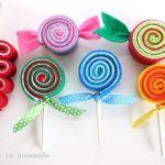 Felt Candy Ornaments + 35 Ways to Trim the Tree