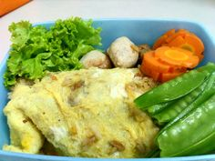 Omurice for my lunchbox