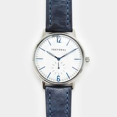 Tokyo Bay Grant Watch Blue - Cool Material