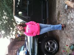 Me & my Jeep !!! I'm so blessed!!