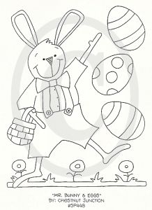 Mr. Bunny and Eggs