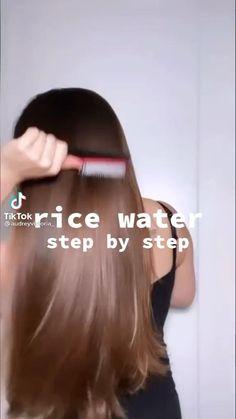 Hair Growing Tips, Grow Hair, Hair Tips Video, Diy Hair Treatment, Hair Treatments, Hair Upstyles, Diy Hair Mask, Hair And Makeup Tips, Curly Hair Tips