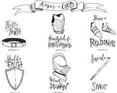 Armor of God illustration Scripture Art, Bible Art, Bible Quotes, Bible Verses, Shield Of Faith, Faith In God, Armor Of God Tattoo, Belt Of Truth, Spirit Tattoo
