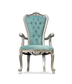 King Throne Chair, King On Throne, Dining Chairs, Lounge Chairs, Accent Chairs, Teal, Living Room, Silver, Armchairs