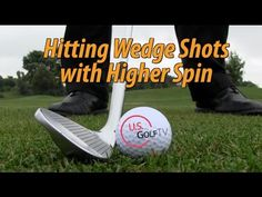 GOLF MASTERS 2014 - HOW TO GET BACKSPIN ON CHIP SHOTS - YouTube