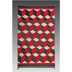Optical Weaving, Navajo, second quarter of the 20th century