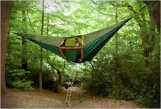 Así si duermo en medio de la selva