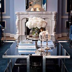 "63 Likes, 3 Comments - egan interiors (@eganinteriors) on Instagram: ""Navy blue is effortlessly cool. ♡ #navy #blue #interiores #interior #interiordesign #eganinteriors…"""