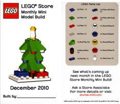 LEGO MMMB - December '10 (Tree) by TooMuchDew, via Flickr