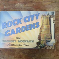 1949 Rock City Gardens Mint Condition Guide Book by LoopyLiz on Etsy