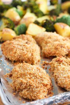 Crispy Chicken Sheet Pan Dinner