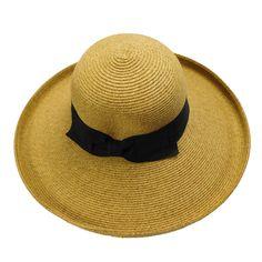 Large Up Turned Brim Sun Hat