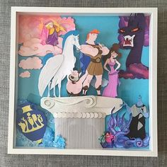 This Hercules paper art piece is fantastic!! We just LOVE Hercules and Meg and of course who doesn't love HADES!?Amazing piece @lostboyscreations ! #DIYDisneyCrafts  #diydisney #disneycrafting #disneycraft #DIYDisneyCraft #magicalmakers #disneycrafts #disneystyle #mmlshare #disneyinspired  #disneypaperart