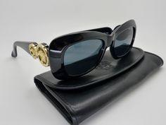 6f36a4d5140 Genuine Rare Vintage Gianni Versace Sunglasses Mod 417 C Col 852 Unisex  NOS