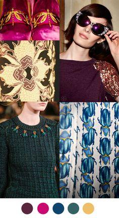 Color Collective: jewel tones