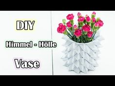 diy anleitung magic ball vase falten via. Black Bedroom Furniture Sets. Home Design Ideas