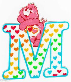 ❤️Care Bears and Friends ~ The Letter M