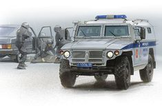 100%™ GAZ Tiger | Police armored car