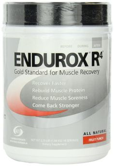 Endurox R4, Fruit Punch, 14 serving Net WT 2.29 LBS (1.04 KG ) Pacific Health Labs    I've tried lots of products over the years, and I simply do not use anything else after a long run or hard workout, period! This stuff is the best, IMO, for recovery.