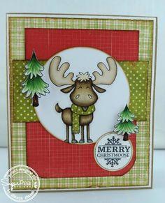 Shanna's Designs: Merry Christmoose Sugar Sketch