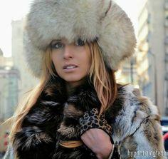 Rabbit Fur, Fur Coat, Winter Hats, Warm, Women, Fashion, Moda, Fashion Styles, Fashion Illustrations