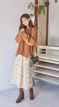 23 Lovable Long Skirt Outfits Ideas 23 - 23 Lovable Long Skirt Outfits Ideas * remajacantik Source by ideas modest Korean Outfits, Mode Outfits, Casual Outfits, Modest Fashion, Hijab Fashion, Fashion Outfits, Long Skirt Fashion, Ankara Fashion, Fashion Tips