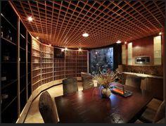 Nice Wine room.