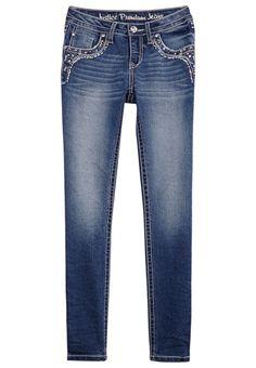 Premium Heavy Stitch Super Skinny Jeans (original price, $19.99) available at #Justice