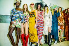 @followwestwood S/S 2016  @backstageat  See more  @voguemagazine: http://bkstge.at/PFW-PHOTO-DIARY-VOGUE