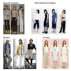 Preview Spring Summer 2015 apparel, shoes and make up by Maison Martin Margiela, MM6 by Maison Martin Margiela, Max Mara, Tory Burch ----- pre-collezione moda trend Primavera Estate 2015 abbigliamento scarpe accessori e trucco