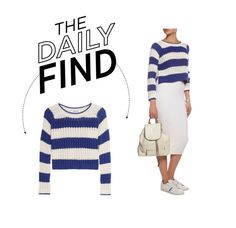 """""""Daily Find: Elizabeth and James Striped Sweater"""" by polyvore-editorial ❤ liked on Polyvore featuring Elizabeth and James and DailyFind"""