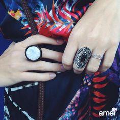 Muitas novidades em acessórios na Amei ✨  anéis